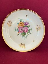 A rare New Hall Porcelain Saucer Dish c.1805