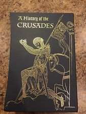 A HISTORY OF THE CRUSADES Steven Runciman 2007 Folio Society 3-Volume Set