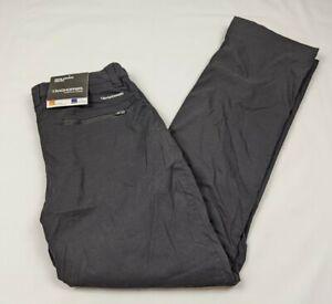 CRAGHOPPERS KIWI PRO WINTER LINED TROUSERS PANTS Men's Black  CMJ337L Sz. 34