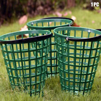 Outdoor Golf Ball Basket Green Carrying With Handle Nylon Home Storage Container