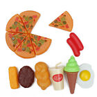 13x Kids Plastic Pizza Cola Ice Cream Food Kitchen Role Play Toy Environmental