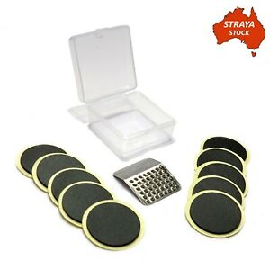Bicycle Tube Glueless Patch Kit - 10 Pieces - Bike Puncture Repair Kit AU STOCK