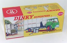 DINKY Reproduction Box 978 Refuse Wagon (Repro Box Only)