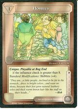 MIDDLE EARTH BLACK BORDER PREMIER RARE CARD HOBBITS