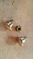 79-83 DATSUN 280ZX 2 REAR 1/4 GLASS WINDOW NUT AND BOLTS COUPE TURBO OR NA NICE