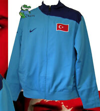 New NIKE TURKEY Football Tracksuit Jacket Turquoise Large L