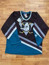 Starter Mighty Ducks Of Anaheim 90s Throwback Hockey Jersey XL