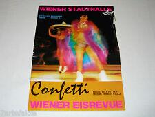 Programmheft, Wiener Eisrevue, Confetti, 1968/69