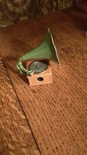 Vintage Play Me in Spain Victrola Diecast Pencil Sharpener
