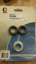 Genuine Graco 239-868 leather throat kit high flow pump repair kit