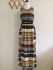 D2Chao Women's Bohemian style Print Maxi Dress Size S