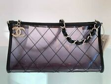 Chanel 2006-2008 Quilted Clear Evening Bag