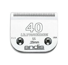 Andis ULTRA Edge 40 SS lame (en acier inoxydable chirurgical) 0,25 mm. toilettage.
