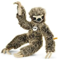 Steiff 'Eric' Sloth - plush soft toy - washable & baby safe - 45cm - 056284