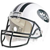 NEW YORK JETS RIDDELL VSR4 NFL FULL SIZE REPLICA FOOTBALL HELMET