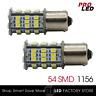 1156 LED Bulbs White Backup Tail Reverse Light BA15S RV Trailer Interior 54-SMD