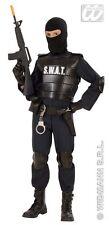 Widmann Costume Agente S.w.a.t Taglia 8/10 anni Giocattolo 8003558553471