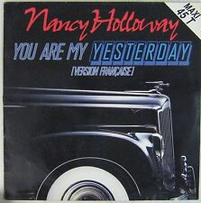 Pochette Auto Maxi 45 tours Nancy Holloway You are my yesterday 1988