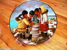 Perenna Nori Peter Siberian Husky Puppy Dog Inuit We Lite It Plate + COA + BOX
