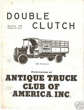1980 Double Clutch magazine - Ford Model AA Truck ATCA