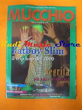 Rivista MUCCHIO SELVAGGIO 339/1999 Fatboy Slim Negrita Paradise Motel No cd
