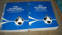 1996 FORD ECONOLINE E SERIES VAN Service Repair Shop Manual Set OEM FACTORY