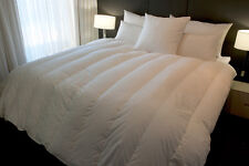 QUEEN SIZE QUILT / DOONA 95% HUNGARIAN GOOSE DOWN, 5 BLANKET WALLED AND CHANNEL