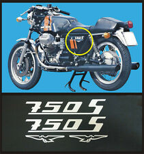 Moto Guzzi 750 S 1973 75  - adesivi/adhesives/stickers/decal