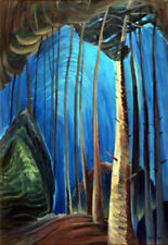 Emily Carr- Blue Sky - Giclee Canvas Gallery Wrapped- 38 x 47