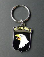 US ARMY 101ST AIRBORNE DIVISION METAL KEY RING CHAIN KEYRING KEYCHAIN 1.5 INCHES