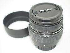 Sigma 18-50mm F3.5-5.6 AF Zoom lens for Nikon AF