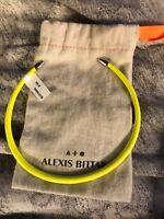 Alexis Bittar Neon Yellow Collar Chocker Necklace $195