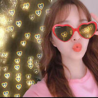 Love special effects eyeglasses peach heart light glasses creative gifts New