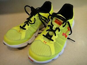 Under Armour Shoes Youth Assert 6 Sz 6Y Neon Yellow - NEW!
