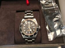Tudor Black Bay Black Stainless 79230N-002 Oyster band 41MM C. 2018