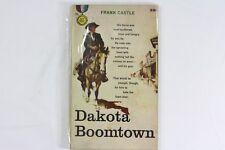 Dakota Boomtown 1958 Western Paperback Frank Castle Free Shipping