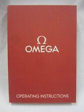 Omega Operating Instructions Manual Book Automatic Mechanical & Quartz Calibers