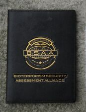 Resident Evil - The Final Chapter - Original B.S.A.A - Badge ID-Card with Wallet