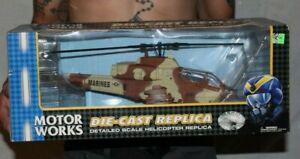 Motorworks Metal Diecast Replica 1:40 scale Cobra Helicopter