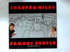 Famous People 12in (Sharpe & Niles - 1985) POSPX 735 (ID:15747)