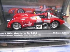 PANOZ LMP1 Roadster S 2000 Le Mans #12 Raphanel O Connell Katoh IXO Altaya 1:43