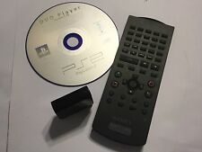 Sony PlayStation 2 PS2 DVD Player Software CD DISC Version 2.10 + REMOTE & IR