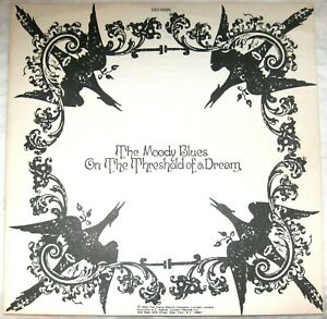 """The Moody Blues """"On The Threshold Of A Dream"""" 1969 Album Insert Only"""