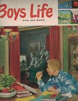 Boys Life Magazine January 1953 John Kenny Skiing Jack Landru Joseph Olgin