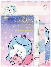 "San-X Jinbesan (""Whale Shark"") ""Underwater Bath"" Letter Set (#2)"