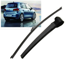 Aero Rear Wiper Arm & Blade Kit Fit For VW Golf I-V Polo MK6 02-05 Touran 03-09