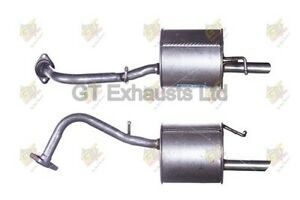For Toyota Yaris/Vitz 1.0 VVT-i 2005-2012 Rear Exhaust Silencer TY690X