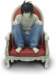 OFFICIAL DEATH NOTE L MANGA FIGURINE FIGURE ORNAMENT NEW & GIFT BOXED *