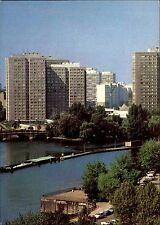 BERLIN Ost DDR AK 1981 Blick zur Fischerinsel Wohnblock Hochhäuser Postkarte