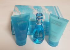Davidoff Cool Water Femme Set with Edt 30ml, Shower Gel 50ml & Body Lotion 50ML